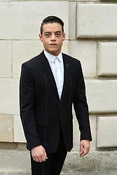 Rami Malek attends the Christian Dior  Menswear Spring Summer 2018 part of the Paris Fashion Week on June 23, 2017 in Paris, France. Photo by Laurent Zabulon ABACAPRESS.com  | 597643_003