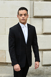 Rami Malek attends the Christian Dior  Menswear Spring Summer 2018 part of the Paris Fashion Week on June 23, 2017 in Paris, France. Photo by Laurent Zabulon ABACAPRESS.com    597643_003