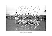 Signed team shot of Tipperary hurling team, 1967 All Ireland Final Runners-Up.