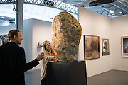 PETROC SESTI; KATIE DE TILLY; EMILY YOUNG SCULPTURE, Opening of ART15, Olympia, London. 20 May 2015