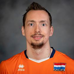 21-05-2019 NED: Team shoot Dutch volleyball team men, Arnhem<br /> Tim Smit #12 of Netherlands