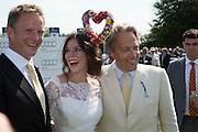 RUPERT PENRY-JONES; ANNA FRIEL; THE EARL OF MARCH, Glorious Goodwood. Thursday.  Sussex. 3 August 2013