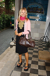 MISS VANESSA THREAPLETON-HORROCKS at the No Campaign's Summer Party - a celebration of the 'Non' and 'Nee' votes in the Europen referendum in France and The Netherlands held at The Peacock House, 8 Addison Road, London W14 on 5th July 2005.<br /><br />NON EXCLUSIVE - WORLD RIGHTS