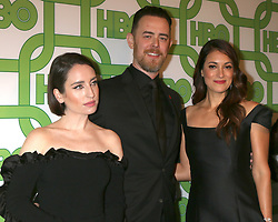 January 6, 2019 - Beverly Hills, CA, USA - LOS ANGELES - JAN 6:  Zoe Lister-Jones, Colin Hanks, Angelique Cabral at the 2019 HBO Post Golden Globe Party at the Beverly Hilton Hotel on January 6, 2019 in Beverly Hills, CA (Credit Image: © Kay Blake/ZUMA Wire)