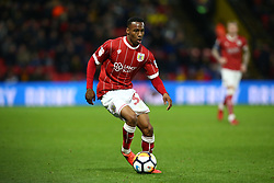 January 6, 2018 - Watford, England, United Kingdom - Bristol City's Opi Edwards..during FA Cup 3rd Round match between Watford  and Bristol  City at Vicarage Road Stadium, Watford ,  England 06 Jan 2018. (Credit Image: © Kieran Galvin/NurPhoto via ZUMA Press)