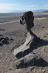 Volcanic Rock Formation found alongside Badwater Road in Death Valley National Park, California