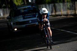 competes during Men Time Trial at UCI Road World Championship 2020, on September 24, 2020 in Imola, Italy. Photo by Vid Ponikvar / Sportida