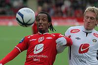 Fotball, 05. Mai 2013, Tippeligaen Eliteserien , Sogndal - Brann<br /> Foto: Christian Blom , Digitalsport Amin Askar brann Per Egil Flo sogndal