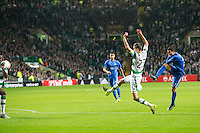 UEFA Europa League 2015: Celtic - Molde. Mohamed Elyounoussi banker inn 0-1 Europa League kampen mellom Celtic og Molde på Celtic Park.