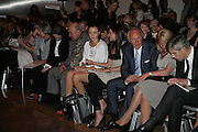 MOHAMED AL FAYED AND CAMILLA Al Fayed ,  London College of Fashion catwalk show. Royal Academy of Arts, 6 Burlington Gardens. London. 31 May 2007. -DO NOT ARCHIVE-© Copyright Photograph by Dafydd Jones. 248 Clapham Rd. London SW9 0PZ. Tel 0207 820 0771. www.dafjones.com.