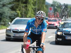 05.07.2015, Mörbisch, AUT, Österreich Radrundfahrt, 1. Etappe, Mörbisch nach Scheibbs, im Bild Gregor Mühlberger (AUT, Team Felbermayr Simplon) // Gregor Mühlberger of Austria during the Tour of Austria, 1st Stage, from Mörbisch to Scheibbs, Mörbisch, Austria on 2015/07/05. EXPA Pictures © 2015, PhotoCredit: EXPA/ Reinhard Eisenbauer