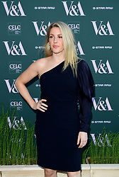 Ellie Goulding attending the VIP preview for the V&A Museum's Fashioned From Nature exhibition, in London