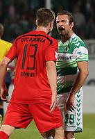 BILDETINNGÅRIKKEIFASTAVTALER.<br /> ALLNEDLASTINGVILBLIFAKTURERT.<br /> <br /> Fotball<br /> Tyskland<br /> 06.11.2015<br /> Foto: Imago/Digitalsport<br /> NORWAY ONLY<br /> <br /> 06.11.2015 - Fussball - Saison 2015 2016 - 2. Fussball - Bundesliga - 14. Spieltag: SpVgg Greuther Fürth - DSC Arminia Bielefeld <br /> <br /> DaMa - Julian Börner Boerner (13, DSC Arminia Bielefeld ) Veton Berisha (19, SpVgg Greuther Fürth ) provozieren sich