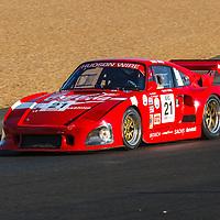 #21, Porsche 935 K3 (1980), drivers: Urs Beck, Rainer Becker, Grid 6, on 06/07/2018 at the 24H of Le Mans, 2018