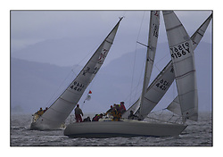 Yachting- The second start of the Bell Lawrie Scottish series 2002 at Inverkip racing to Tarbert Loch Fyne where racing continues over the weekend.<br /><br />sigma33 Odessey K9156Y after a crash tack.<br /><br />Pics Marc Turner / PFM