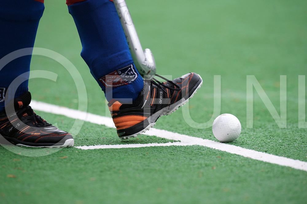 BILTHOVEN - SCHC v Amsterdam Dames<br /> Hoofdklasse dames Play Off<br /> Foto: Grays schoenen<br /> FFU PRESS AGENCY COPYRIGHT FRANK UIJLENBROEK