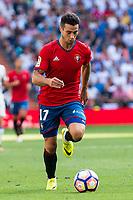Osasuna player Jaime Romero Gomez during a match of La Liga Santander at Santiago Bernabeu Stadium in Madrid. September 10, Spain. 2016. (ALTERPHOTOS/BorjaB.Hojas)