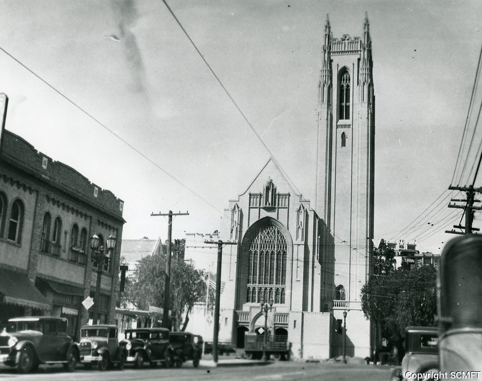 1930 First Methodist Church on Franklin Ave. at Highland Ave.