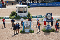 Top 8, Prizegiving Marathon Driving<br /> World Equestrian Games - Tryon 2018<br /> © Hippo Foto - Sharon Vandeput<br /> 22/09/2018