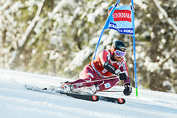 Leif Kristian Haugen (NOR) competes during 9th Men's Giant Slalom race of FIS Alpine Ski World Cup 55th Vitranc Cup 2016, on March 4, 2016 in Kranjska Gora, Slovenia. Photo by Vid Ponikvar / Sportida
