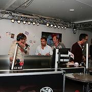 3FM Serious Request 2012 in Enschede van start! Giel Beelen, Gerard Ekdom, Michiel Veenstra
