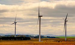 Wind Turbines in West Lothian, Scotland<br /> <br /> (c) Andrew Wilson   Edinburgh Elite media