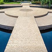 Moongate Garden, Smithsonian Castle / Washington DC