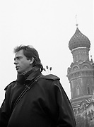 GreenPeace Moscow - David Byrne in Red Square