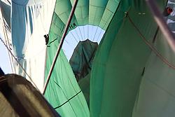 Landing, Hot Air Ballooning Over Bagan