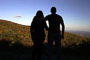 Couple in love in Albemarle, VA.  Credit Image: © Andrew Shurtleff