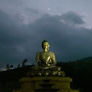 The Great Buddha Dordenma is a gigantic Shakyamuni Buddha statue in the mountains of Bhutan celebrating the 60th anniversary of fourth king Jigme Singye Wangchuck.