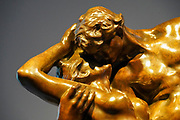 Auguste Rodin (1840 - 1917), L'éternel printemps, Eternal Springtime, 1884, Bronze with brown patina, Not numbered, cast by Barbedienne, Paris, 1902, 66 × 83 × 42 cm At the Goulandris Museum of Contemporary Art is a modern art museum in Eratosthenous Street, Pangrati, Athens, Greece, opened in October 2019.