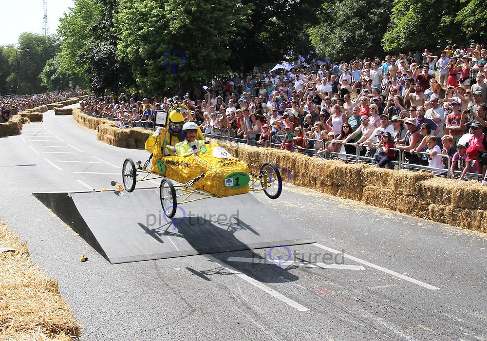 Herberts Lemon, Red Bull Soapbox Race, Alexandra Palace, London UK, 14 July 2013, (Photoby Richard Goldschmidt)
