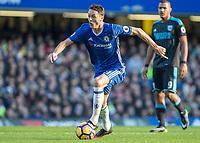 Football - 2016 / 2017 Premier League - Chelsea vs. West Bromwich Albion<br /> <br /> Nemanja Matic of Chelsea at Stamford Bridge.<br /> <br /> COLORSPORT/DANIEL BEARHAM