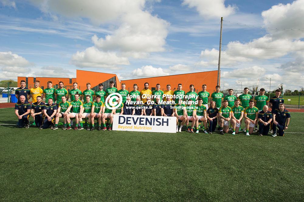 28-04-2018. Meath Senior Football Squad and Mentors 2018.<br /> Photo: John Quirke / www.quirke.ie<br /> ©John Quirke Photography, 16 Proudstown Road, Navan. Co. Meath. (info@quirke.ie / 046-9028461 / 087-2579454).