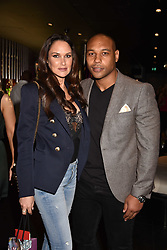 Claire Merry and Jordan Turner-Hall at the STK Ibiza themed brunch party at STK London, London, England. 7 May 2017.<br /> Photo by Dominic O'Neill/SilverHub 0203 174 1069 sales@silverhubmedia.com