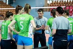 ROZMAN Gregor, head Coach of Slovenian national team during volleyball match between Slovenia and Portugal in CEV Volleyball European Silver League 2021, on 12 of June, 2021 in Dvorana Ljudski Vrt, Maribor, Slovenia. Photo by Blaž Weindorfer / Sportida
