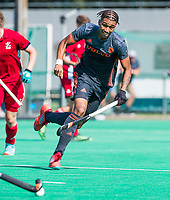 St.-Job-In 't Goor / Antwerpen -  6Nations U23 - Marlon Landbrug (ned).     Nederland Jong Oranje Heren (JOH) - Groot Brittannie .  COPYRIGHT  KOEN SUYK