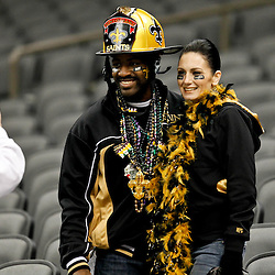November 28, 2011; New Orleans, LA, USA; New Orleans Saints fans in the stands prior to kickoff of a game against the New York Giants at the Mercedes-Benz Superdome. Mandatory Credit: Derick E. Hingle-US PRESSWIRE