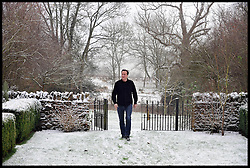 Leader of the Conservative Party David Cameron holds the last meeting of 2009 with his inner team on his plans for the General Election at his house in Dean, Oxfordshire, Tuesday 22, 2009.  Photo by Andrew Parsons / i-Images
