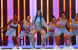 Mabel on stage during Capital's Summertime Ball. The world's biggest stars perform live for 80,000 Capital listeners at Wembley Stadium at the UK's biggest summer party. PRESS ASSOCIATION PHOTO. Picture date: Saturday June 8, 2019. Photo credit should read: Isabel Infantes/PA Wire
