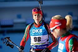 Daniela Kadeva (BUL) in action during the Women 7,5km Sprint at day 7 of IBU Biathlon World Cup 2018/19 Pokljuka, on December 8, 2018 in Rudno polje, Pokljuka, Pokljuka, Slovenia. Photo by Urban Urbanc / Sportida