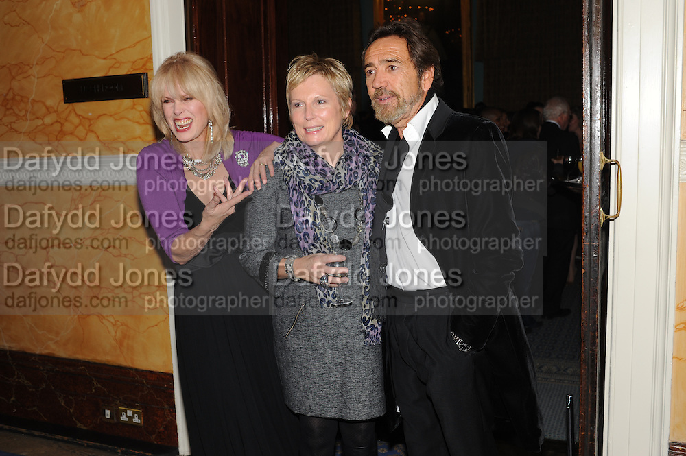 JOANNA LUMLEY; JENNIFER SAUNDERS; ROBERT LINDSAY;, Party following the Theatre Royal press night performance of The Lion in Winter , The Institute of Directors. London. 15 November 2011. <br /> <br />  , -DO NOT ARCHIVE-© Copyright Photograph by Dafydd Jones. 248 Clapham Rd. London SW9 0PZ. Tel 0207 820 0771. www.dafjones.com.