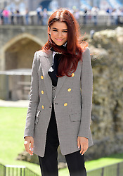 Zendaya attending the Spider-Man: Far From Home Photocall held at the Tower of London.