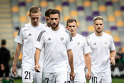 Players of NS Mura during warmup before football match between NS Mura and Vitesse (NED) in 1st round of UEFA Europa Conference League 2021/22, on 16 of September, 2021 in Ljudski Vrt, Maribor, Slovenia. Photo by Blaž Weindorfer / Sportida