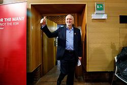 © Licensed to London News Pictures. 29/04/2017. London, UK. Labour leader JEREMY CORBYN delivers a speech at London Metropolitan University in London on 29 April 2017. Photo credit: Tolga Akmen/LNP