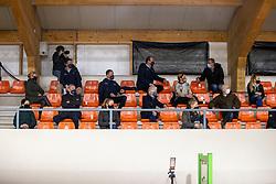 Toeschouwers<br /> KWPN Hengstenkeuring 2021<br /> © Hippo Foto - Dirk Caremans<br />  06/02/2021
