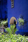 In the beautiful gardens of the Palacio de Fronteira, in Lisbon, Portugal