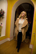 MARYAM D'ABO, Book launch for American's in Paris by Charles Glass hosted by Lady Annabel Lindsay. Holland Park. London. 25 March 2009 *** Local Caption *** -DO NOT ARCHIVE-© Copyright Photograph by Dafydd Jones. 248 Clapham Rd. London SW9 0PZ. Tel 0207 820 0771. www.dafjones.com.<br /> MARYAM D'ABO, Book launch for American's in Paris by Charles Glass hosted by Lady Annabel Lindsay. Holland Park. London. 25 March 2009