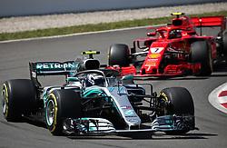 May 13, 2018 - Barcelona, Catalonia, Spain - Mercedes of Valtteri Bottas during the Formula 1 free practice 2 at the Barcelona-Catalunya Circuit, on 11th May 2018, in Barcelona, Spain. (Credit Image: © Joan Valls/NurPhoto via ZUMA Press)